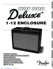 fender hot rod deluxe manuals rh manualslib com fender hot rod deluxe manuale fender hot rod deluxe owners manual