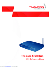 THOMSON SPEEDTOUCH ST780I WL DRIVERS FOR WINDOWS 8