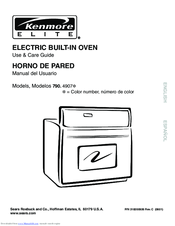 Kenmore 790. 4907 Series Use & Care Manual