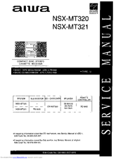 aiwa nsx mt320 service manual pdf download rh manualslib com