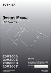 toshiba 20v300a manuals rh manualslib com