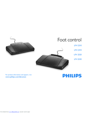 Philips LFH 2210 User Manual
