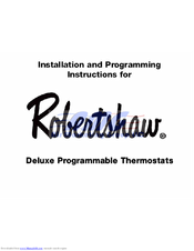 Robertshaw rs3210 user manual | page 2 / 2 | also for: rs3110.