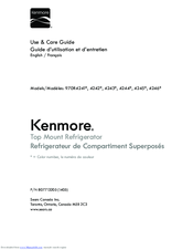Kenmore 4242 Series Use & Care Manual