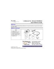 fluke linkrunner pro manuals rh manualslib com fluke linkrunner manual download fluke linkrunner duo manual