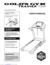 gold gym treadmill 480 user manual