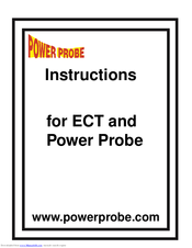 POWER PROBE power probe III ECT-2000 Instruction Manual