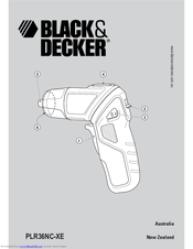 Black & Decker PCL48NC Instruction Manual