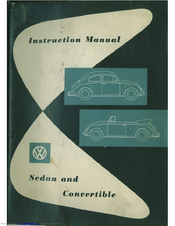 Volkswagen 1960 Bug Sedan Instruction Manual