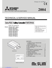 Mitsubishi Electric PEAD-RP6EA1 Technical & Service Manual