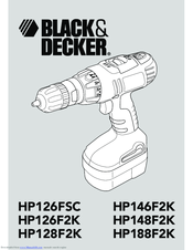 Black & Decker HP146F2K Original Instructions Manual