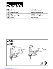 Makita 4304 Instruction Manual