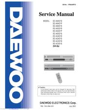daewoo dc a23d1s manuals rh manualslib com Online User Guide User Manual