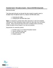 polycom video conferencing setup manual