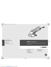 Bosch GWS 6-115 (E) Original Operating Instructions