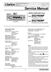 clarion proaudio dxz745mp manuals rh manualslib com Gutter Installation Guide Garage Door Installation Manual