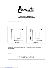 avanti sbca017g instruction manual pdf download rh manualslib com User Guide Template Example User Guide
