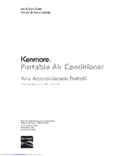 Kenmore 405.84086 Use & Care Manual
