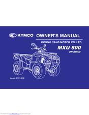 Kymco MXU 500 Manuals