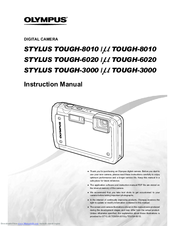olympus stylus stylus tough 3000 tough 3000 manuals rh manualslib com