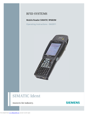Siemens SIMATIC RF680M Operating Instructions Manual