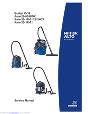 nilfisk alto aero 20 01 inox manuals. Black Bedroom Furniture Sets. Home Design Ideas