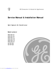 GE PRO AIR 107 SERVICE MANUAL Pdf Download