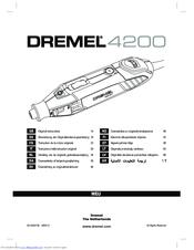 dremel 4200 manuals rh manualslib com manual for dremel 395 type 5 manual for dremel stylus