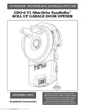 Automatic Technology Australia Gdo 6 V1 Slim Drive Easyroller Manuals Manualslib
