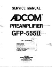 adcom gfp 555ii service manual pdf download rh manualslib com adcom gfp-555 service manual Inside Adcom GFA-555