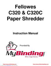 fellowes c320 instruction manual pdf download rh manualslib com