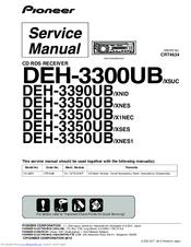 pioneer deh 3390ub xnid manuals rh manualslib com Pioneer DEH-3300UB Wiring-Diagram pioneer deh-3300ub owners manual