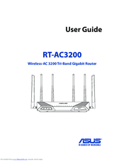 Asus RT-AC3200 User Manual