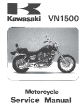 kawasaki vn1500 mean streak manuals kawasaki vn1500 mean streak service manual