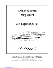 Sea ray 215 express cruiser manuals manuals and user guides for sea ray 215 express cruiser we have 1 sea ray 215 express cruiser manual available for free pdf download owners manual publicscrutiny Gallery
