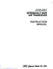 JRC JHS-431 Instruction Manual
