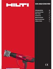 Array - hilti dx462cm hm operating instructions manual pdf download   rh   manualslib com