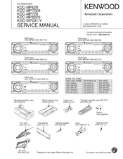 kenwood kdc mp628 manuals rh manualslib com Kenwood KDC- 138 Kenwood KDC- 252U