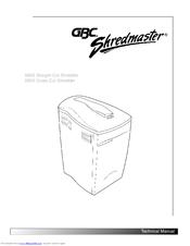 gbc shredmaster 955x manuals rh manualslib com HVAC Wiring Diagrams Light Switch Wiring Diagram