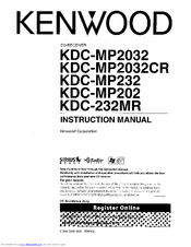 kenwood kdc mp2032 instruction manual pdf download rh manualslib com