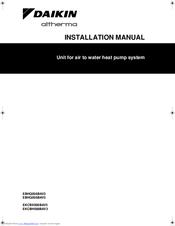 DAIKIN EBHQ006BAV3 INSTALLATION MANUAL Pdf Download