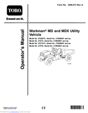 toro workman md manuals Toro Workman Electric Wiring Diagram toro workman md operator\u0027s manual