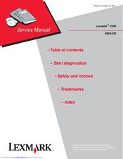 40X7095 Lexmark Op Panel Card