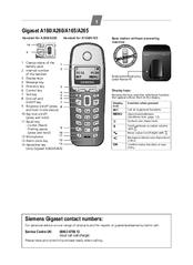 Siemens Gigaset A2 инструкция на русском - фото 6