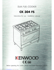 Kenwood CK 304 FS Instructions For Use Manual