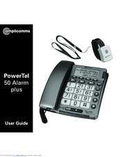 Amplicomms Powertel 50 Alarm Plus User Manual