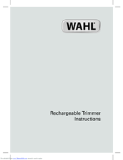 wahl 9818 manuals rh manualslib com wahl clippers instruction manual wahl hair clipper manual