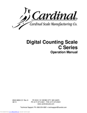 cardinal c65 manuals rh manualslib com Floor Scale Cardinal 205 Scale Manual