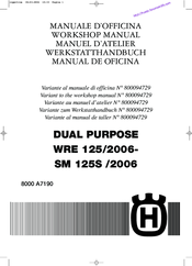 husqvarna 2006 wre 125 workshop manual pdf download rh manualslib com husqvarna sm 125 service manual 2008 husqvarna sm 125 service manual 2008