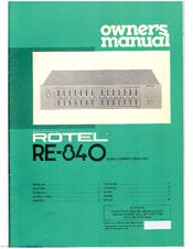 rotel re 840 manuals rh manualslib com Rotel Chicken Spaghetti Mild Rotel